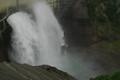 [黒部ダム]超近影 流れ落ちる水の形が刻々と変化