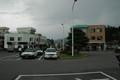 穂高駅 駅前