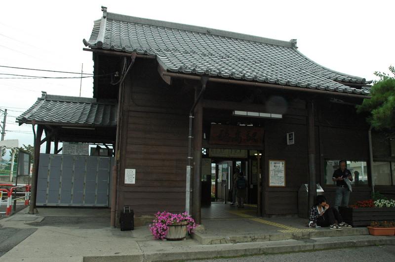 穂高駅 駅舎