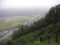 リニア見学センター 展望台から線路を望む