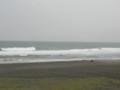 中田島砂丘 波が高い