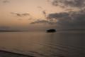 [宍道湖]夕日百選の日没を見逃した図
