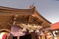 [八重垣神社]しめ縄は出雲神社のように大きめ