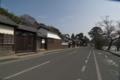 武家屋敷の通り