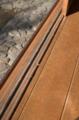 [旧朝倉家住宅]木製の桟は珍しいとか