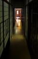 [旧朝倉家住宅]薄暗い廊下