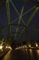 [夜景][行ったとこ][天王洲アイル]橋桁真下から