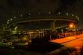 [夜景][レインボーブリッジ]ループ橋