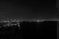 [夜景][レインボーブリッジ]モノクロにして誤魔化し