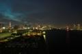[夜景][レインボーブリッジ]中央ちょい右側の方に隅田川花火が!!