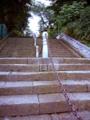 [池上本門寺]結構きつい。横に新たに作られた階段もある。