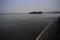 西湖内の小島