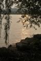 夕暮れの西湖