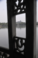 西湖岸からみる六和塔