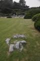 西湖岸にある庭園。枯山水か?