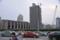 杭州駅。まだ発展途中。