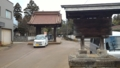 本成寺 黒門 三条市指定有形文化財