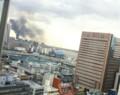 お台場メディアセンターの火事