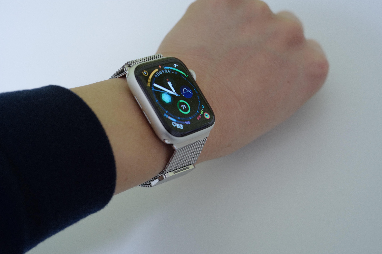 BRGコンパチブルApple Watchバンドの装着状態1
