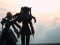[フィギュア][MAXFACTORY][figma][TYPE-MOON][Fate/stay night]題名『黄昏に立つ騎士と魔術師』