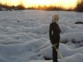 [フィギュア][MAXFACTORY][Fate/stay night][Fate/Zero][雪][夕焼け][*Season04:冬]題名『セイバー/Zero カットNo.009』
