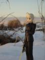 [フィギュア][MAXFACTORY][Fate/stay night][Fate/Zero][雪][夕焼け][*Season04:冬]題名『セイバー/Zero カットNo.008』