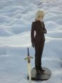 [フィギュア][MAXFACTORY][Fate/stay night][Fate/Zero][雪][夕焼け][*Season04:冬]題名『セイバー/Zero カットNo.007』