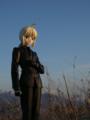 [フィギュア][MAXFACTORY][Fate/stay night][Fate/Zero][雪][夕焼け][*Season04:冬]題名『セイバー/Zero カットNo.003』