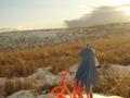 [フィギュア][MAXFACTORY][figma][らき☆すた][草原]題名『夕暮れ時の少女 カットNo.002』