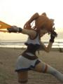 [フィギュア][ALTER][リリカルなのは][海][夜明け・朝焼け]魔法少女リリカルなのはStrikerS ティアナ・ランスター カットNo.019