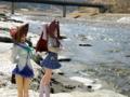 [フィギュア][コトブキヤ][D.C. ~ダ・カーポ~][河川][*Season01:春]朝倉音姫&朝倉由夢 カットNo.009