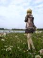 [フィギュア][GoodSmileCompany][Fate/hollow ataraxia][花][*Season01:春]Fate/hollow ataraxia セイバー 休日Ver. カットNo.014