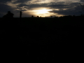 [風景・景観][空][夜明け・朝焼け]2009年6月25日の夜明け