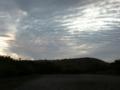 [風景・景観][空][夜明け・朝焼け]夜明け前のうろこ雲