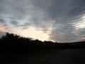 [風景・景観][空][夜明け・朝焼け]…これで本当に晴れるんでしょうか(´・ω・`)