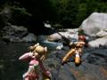 [フィギュア][ALTER][爆裂天使][河川][森林]アルター 『爆裂天使』 エイミー&メグ カットNo.001