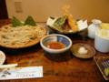 [食事][蕎麦]本日のお蕎麦 「蕎麦処 うずら家」の天ぷらざる