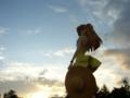 [フィギュア][トイズワークス][メディアワークス][エヴァンゲリオン][空][夕焼け]電撃フィギュアマガジン 惣流・アスカ・ラングレー カットNo.032