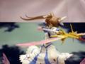 [ガレージキット][WonderFestival][WF2009夏][桜前線][リリカルなのは]桜前線さん スターライトブレイカー!(高町なのは) カットNo.001