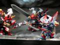 [フィギュア][WonderFestival][WF2009夏][メガハウス][スーパーロボット大戦]ディフォルムーバー ダイゼンガー&アウセンザイター