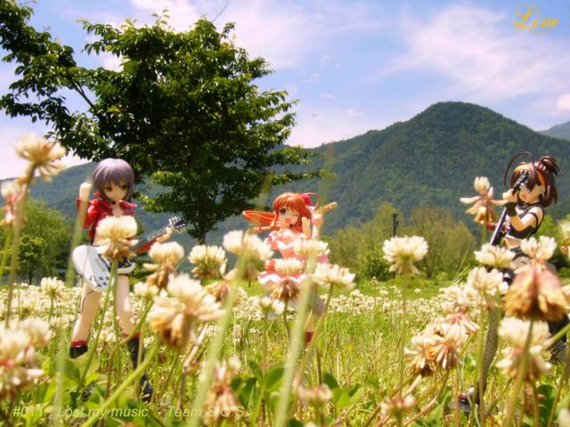 ワンフェス2009夏 第2回フォトコン投稿作『草原のセッション!』