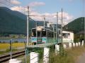 [風景・景観][鉄道][おねがい☆ツインズ]JR大糸線 稲尾駅にて