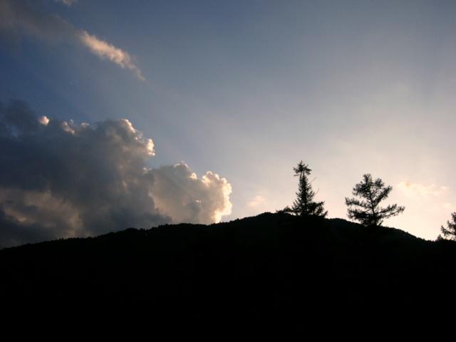 2009年9月24日の夕暮れ