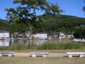 [風景・景観][おねがい☆ツインズ]長野県大町市木崎湖畔より