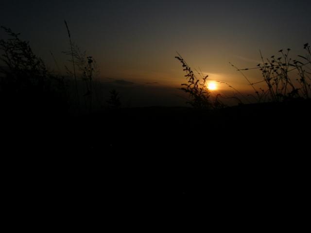 2009年9月26日の夕暮れ