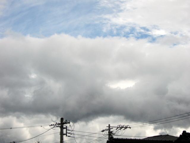 2009年10月8日 台風18号の去った後