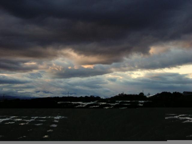 2009年10月08日 台風一過の空