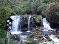 [風景・景観][滝][紅葉]横谷渓谷・霜降の滝(長野県茅野市)