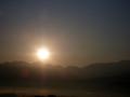 [空][夜明け・朝焼け]2009年11月7日の夜明け