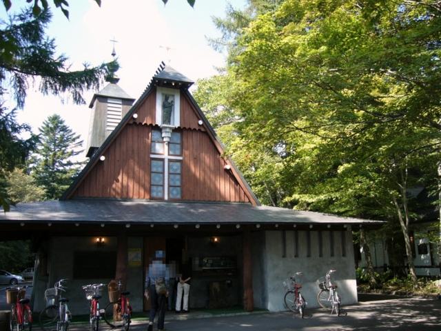 軽井沢・聖パウロカトリック教会